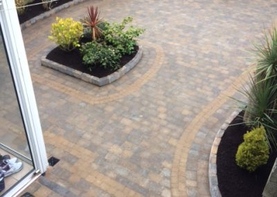 Concrete paving Tegula bracken from Tobermore.
