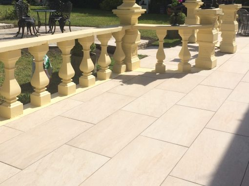 Porcelain paving, Eagle Valley