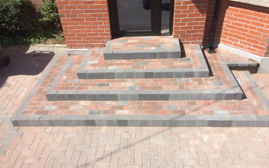 Steps from concrete products